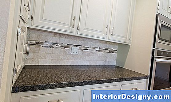 Tumble Tile Backsplash Installation