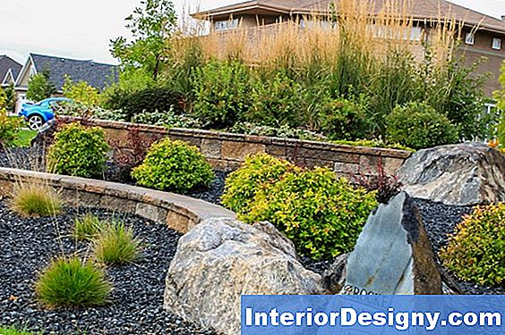 Native Plant & Rock Landscape Ideed