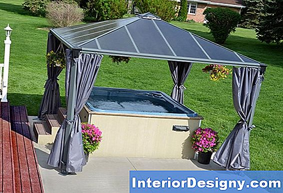 Diy Backyard Metall Gazebo Ideed