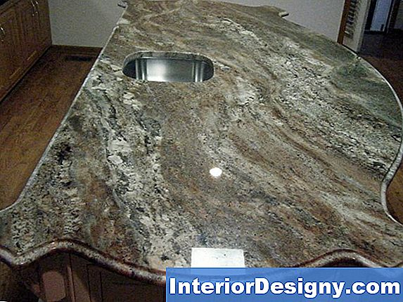 Kuidas Fill Dull Granite Countertops