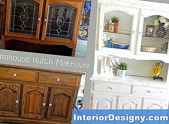 Come Decorare Una Hutch Con Piatti Colorati