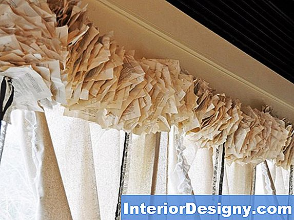 Come Realizzare Un Window Valance Usando I Ramoscelli