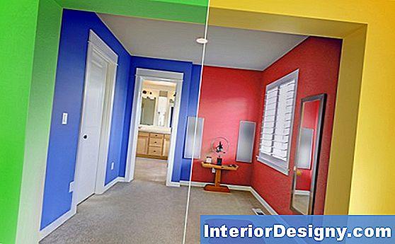 Huis hoe verfkleuren te kiezen voor het versieren van een huis