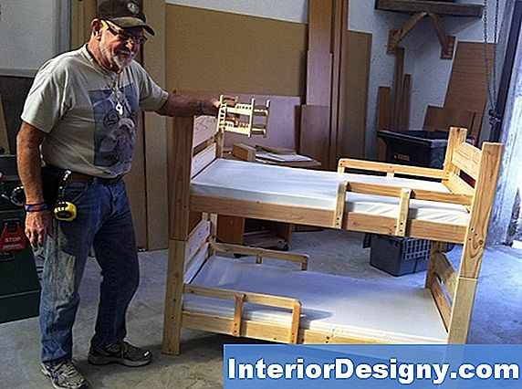 Wood Bunk-Bed Design